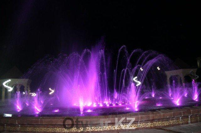 Красота по-шымкентски. Вскоре в городе запустят еще один поющий фонтан