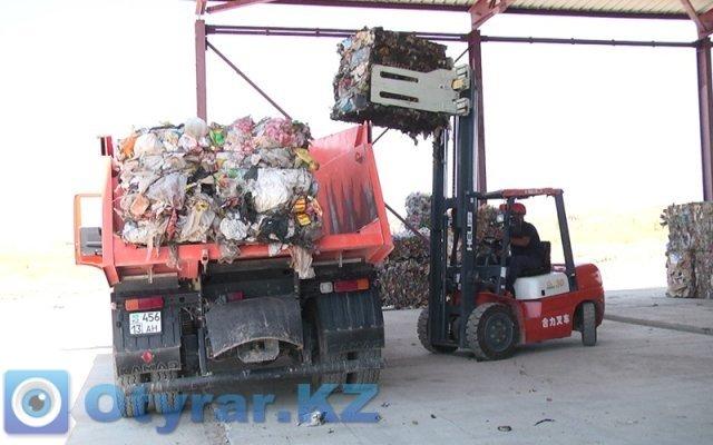 В Шымкенте запустили долгожданный завод по переработке мусора