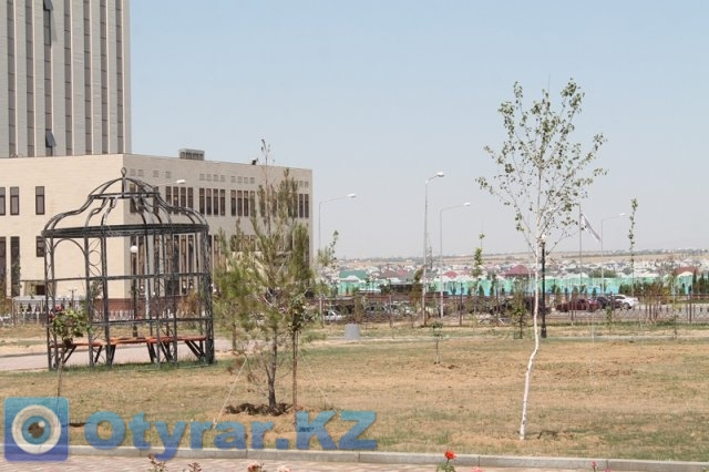 На парки и скверы Шымкента выделено около 1 миллиарда тенге