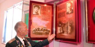 Хранитель музея ДКНБ ЮКО Сейдулла Мыхтыбаев