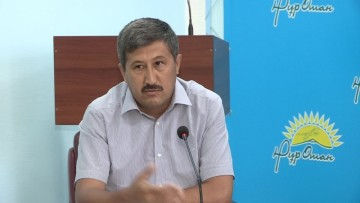 """Бейбит Мошкалов, директор регионального природного парка """"Сырдарья-Туркестан"""""""