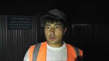 Ильяс Мырзахметов, работник железной дороги