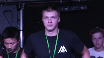 Сергей Карпинский, организатор тату-фестиваля в Шымкенте