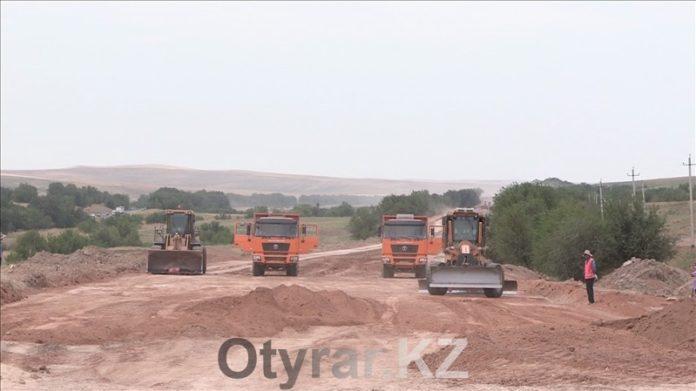 Строительство коридора Шымкент-Ташкент на трассе Западная Европа - Западный Китай