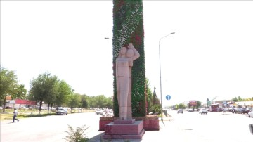 В Шымкенте снова вянут цветы