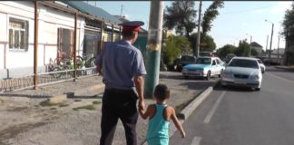 Полицейские вернули родителям заблудившегося ребенка
