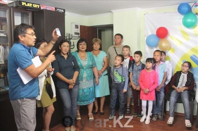 На вручение собрались дети и их родители