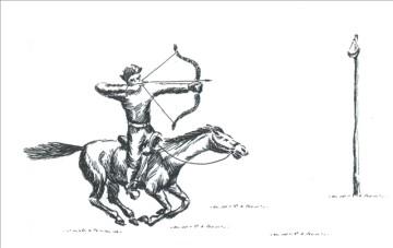 Жамбы ату испакон веков является одним из сложных национальных видов спорта, фото с сайта ulttyqsport.kz