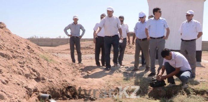Жители трех сел Созакского района наконец-то получили воду