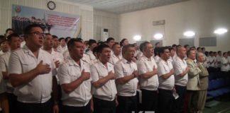 Полицейским ЮКО вручили награды к 20-летию Конституции РК