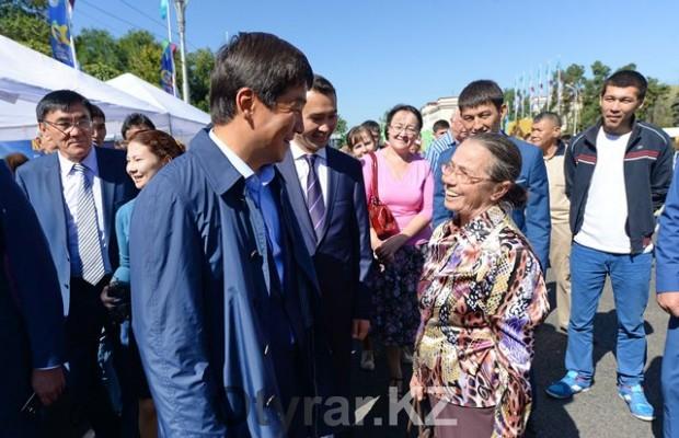 В Алматы состоялась сельскохозяйственная ярмарка товаропроизводителей ЮКО