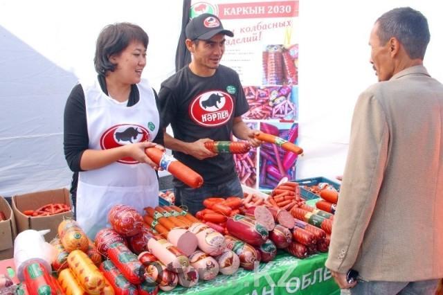 Cельскохозяйственная ярмарка товаропроизводителей ЮКО прошла в Алматы