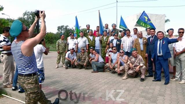 85-летие воздушно-десантных войск отпраздновали в Шымкенте
