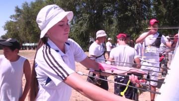 Молодежный чемпионат Казахстана по стрельбе из лука проходит в Шымкенте