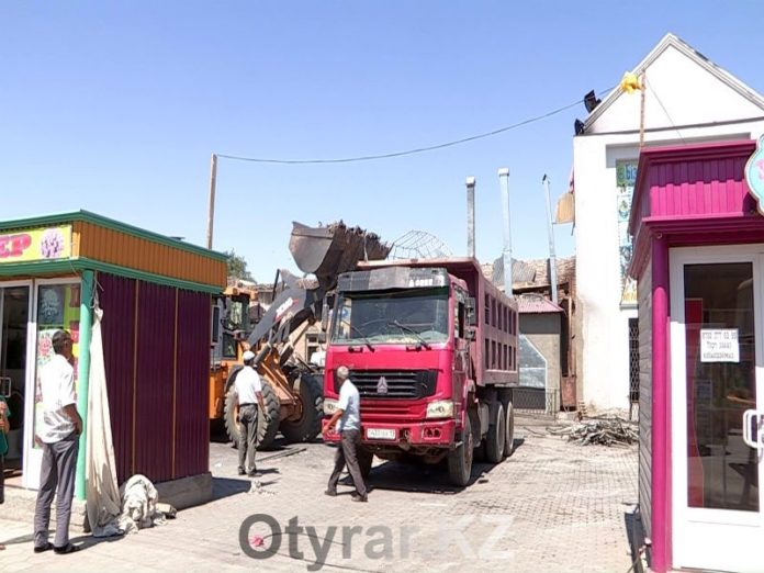 Пожары на рынках Туркестана стали происходить с пугающей частотой