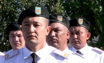 18 лет исполнилось отделу военной полиции шымкентского гарнизона