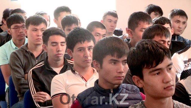 В Шымкенте стартует второй этап осеннего призыва в армию
