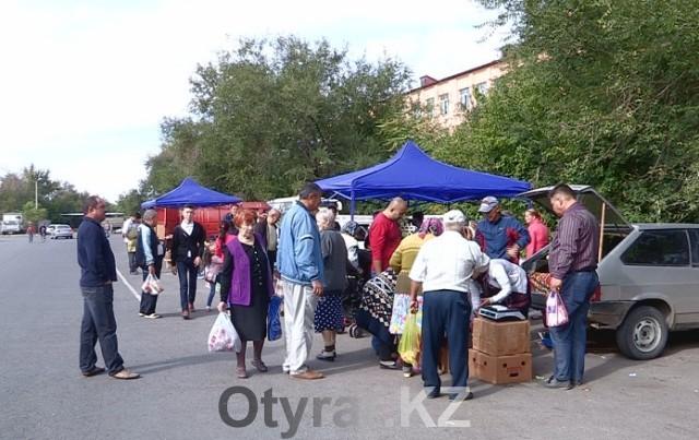 Первая районная ярмарка сельхозпродукции заработала в Шымкенте