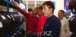 В Шымкенте открылся магазин шин «Эйкос»