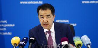 Первый заместитель Премьер-министра РК Бакытжан Сагинтаев