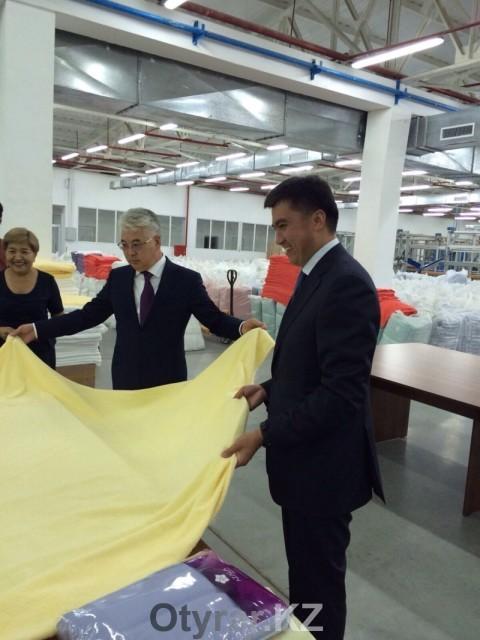 Единственный в Казахстане прядильно-ткацкий комбинат расширяет производство