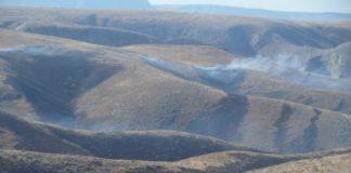В Байдибекском районе выгорело 2000 га земли