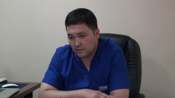 Ернар Каратаев, заместитель главного врача БСМП