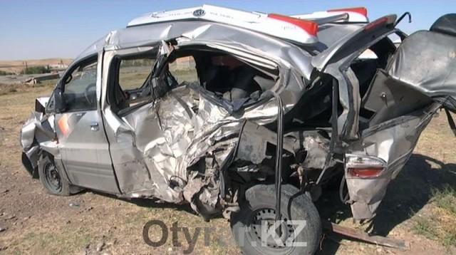 ДТП. Крупнейшая авария произошла сегодня на трассе Жибек-Жолы