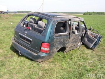В ДТП на трассе Шымкент-Сарыагаш погиб один и пострадало семеро человек