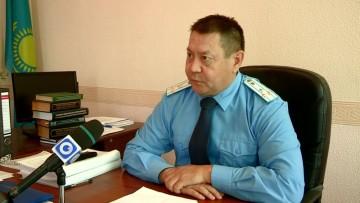 Заместитель прокурора прокуратуры Абайского района Ермек Айтимов