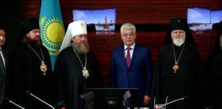 Казахстанский митрополит Александр встретился с главой Южного Казахстана