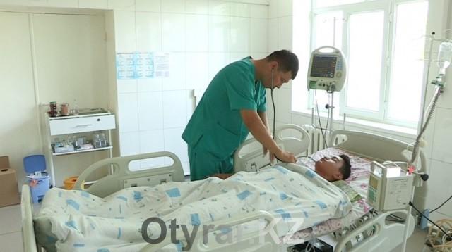 Мусреддинов Омир находится в реанимации Ордабасинской ЦРБ