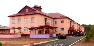В преддверии дня города, в Шымкенте открылся новый детский сад на 320 мест