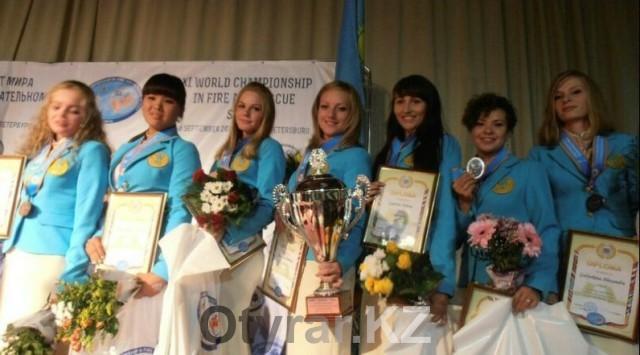 Пожарные ЮКО стали чемпионами мира по пожарно-спасательному спорту