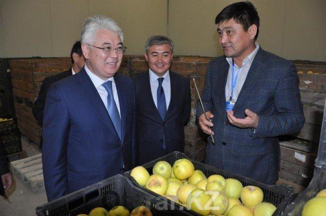 Аким ЮКО побывал c рабочей поездкой в Казыгуртском районе