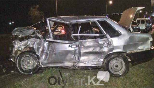 В Шымкенте участковый инспектор совершил ДТП со смертельным исходом