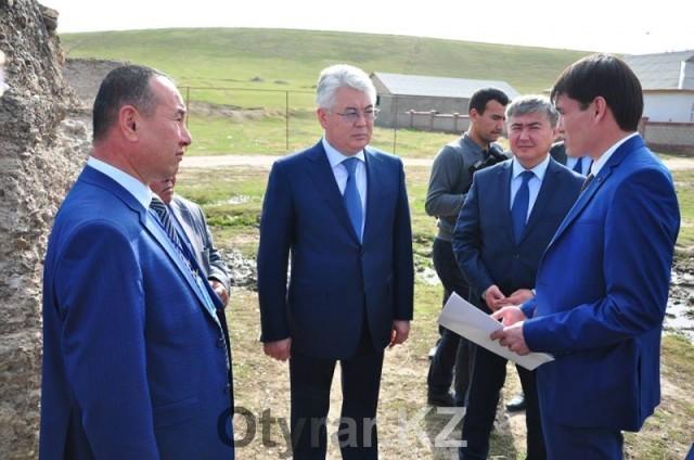 В селе Шарапхана Южно-Казахстанской области появится питьевая вода