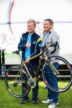В благотворительном велопробеге в Шымкенте примет участие Александр Винокуров
