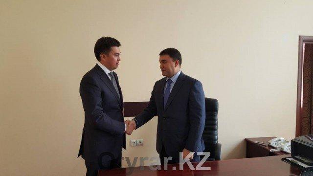 Назначен новый заместитель акима города Нуралхан Кошеров