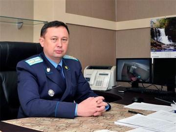 Заместитель прокурора Южно-Казахстанской области К.А. Абдыханов