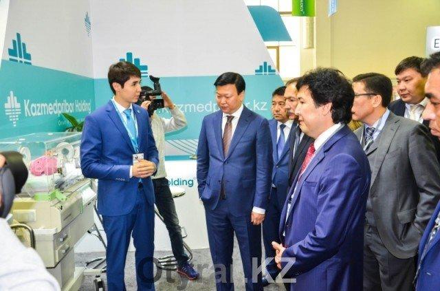 «KAZMEDPRIBOR Holding» представил свое оборудование на международной выставке