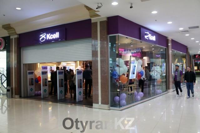 Магазин нового формата Kcell Store открылся в Шымкенте (PR)