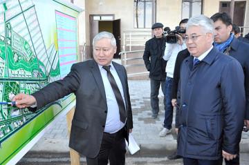 К концу года в ЮКО будет сдано в эксплуатацию 74 жилых дома