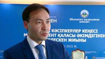 Аскар Абубакиров, директор Палаты предпринимателей по ЮКО.