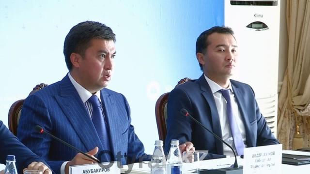 Габидулла Абдрахимов и Сапарбек Туякбаев