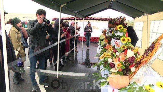 В Шымкенте отпраздновали День города. Золотая осень