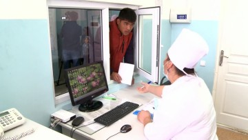 В Шардаринском районе открыто отделение амбулаторной хирургии. Регистратура