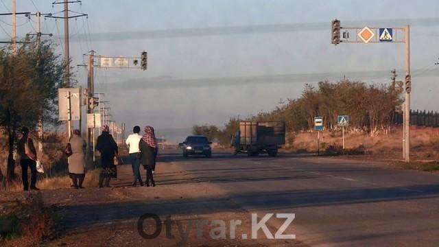 """Проблема с общественным транспортом в микрорайоне """"Асар"""""""