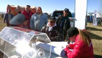 Тойота-центр Шымкент провел тест-драйв внедорожника TOYOTA Fortuner