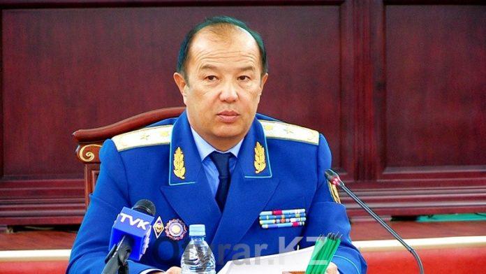прокурор ЮКО Ибрагим Иманов